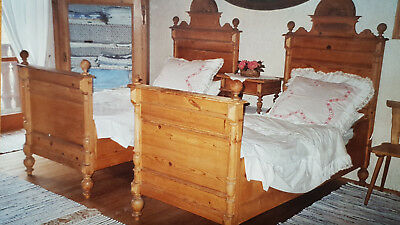 antike originale vor 1945 betten wiegen mobiliar. Black Bedroom Furniture Sets. Home Design Ideas