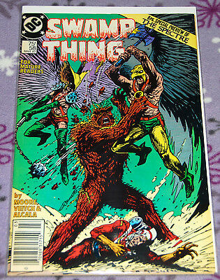 Swamp Thing 58 March 1987 DC Comics