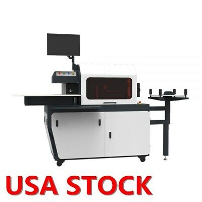 AC220V 2.4KW Automatic CNC Metal Channel Letter Bender Machine US Stock