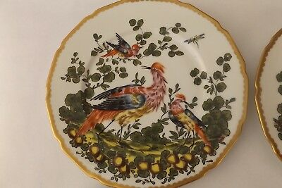 Chelsea Bird Dinner Plates Marked with Gold Bow Anchor & CHELSEA BIRD DINNER Plates Marked with Gold Bow Anchor - $145.00 ...