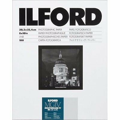 ILFORD MULTIGRADE IV - B&W negative paper resin coated pearl 8x10in