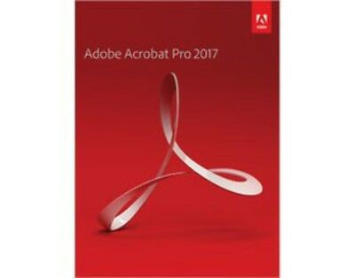 ADOBE 65280571 Acrobat Professional 2017 Retail, Windows
