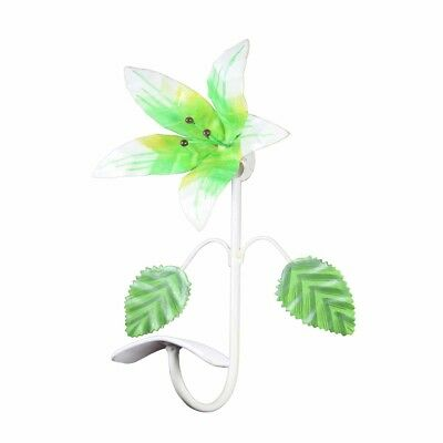 Flower Hook Wrought Iron Multi Colored Lily | Renovator's Supply