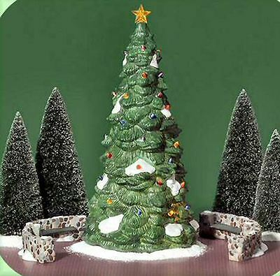 Dept 56 CIC ~ Town Tree  ~ Mint In Box 55654