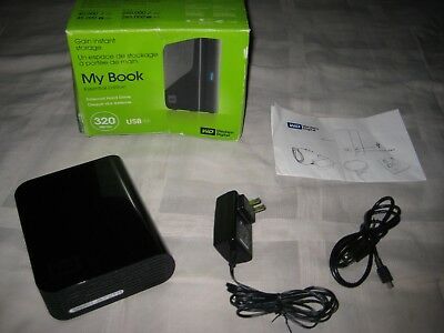 WD My Book Essential 320 GB USB 2.0 Desktop External Hard Drive