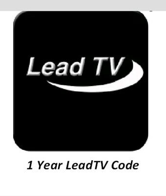 Leadtv code 1 an Abonnement iptv stable