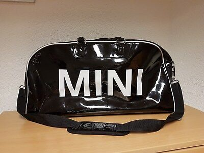 bmw mini cooper original duffle bag reisetasche schwarz. Black Bedroom Furniture Sets. Home Design Ideas