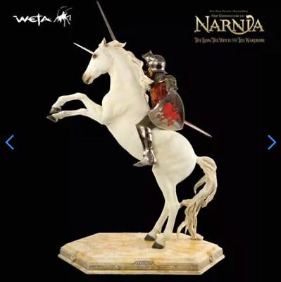 Chroniken von Narinia NARNIA PETER ON UNICORN STATUE WETA 2006