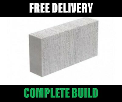 Celcon Thermalite Ash Blocks Blocks 100mm 3.6N - FREE Delivery *Crane Off load