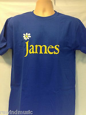 Mens 'James' T Shirt In Blue (Tim Booth)