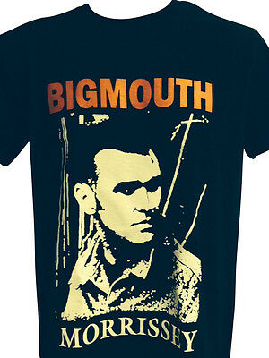 Mens The Smiths Morrissey T Shirt 'bigmouth'