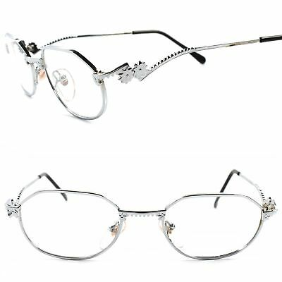 9842b5ab01 Funky Old Vintage Rx-Able Prescription Mens Womens Silver Eye Glasses Frames