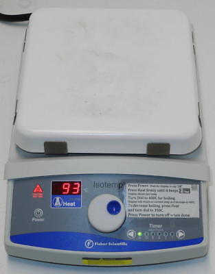 Fisher Scientific Isotemp 11-300-49HP Digital Timed Hot Plate