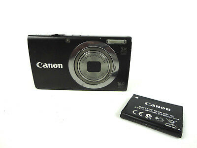 Canon PowerShot A2300 HD 16.0 Mega Pixels 5x optical zoom battery included