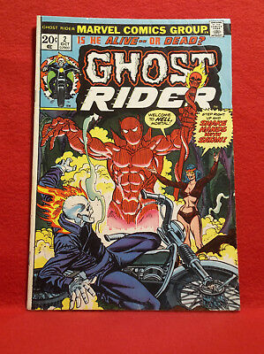 Ghost Rider #2 (1973 series) VG Condition