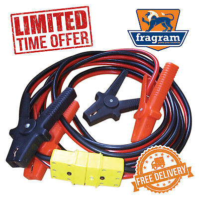 FRAGRAM 400 Amp x 5m Heavy Duty Copper Battery Booster Cables - LIMITED OFFER!