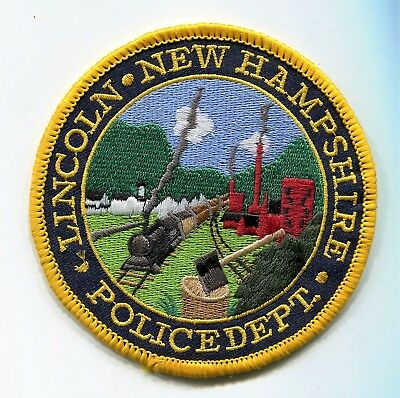 Lincoln New Hampshire Police Patch // FREE US Shipping!