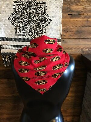 Jose Cuervo Tequila Red Bandana Kerchief (1992) Bar Decor Liquor