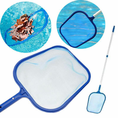 Professional Leaf Rake Mesh Frame Net Skimmer Cleaner Swimming Pool Spa Tools EB