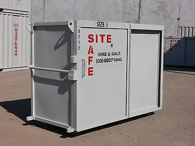 HIRE ONLY - SITE SAFE Size 3 - tool box locker container storage