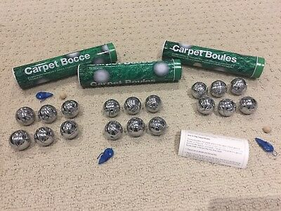 Carpet Bocce Balls Lot