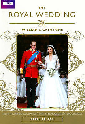 THE ROYAL WEDDING :  William & Catherine DVD BRAND NEW AND SEALED