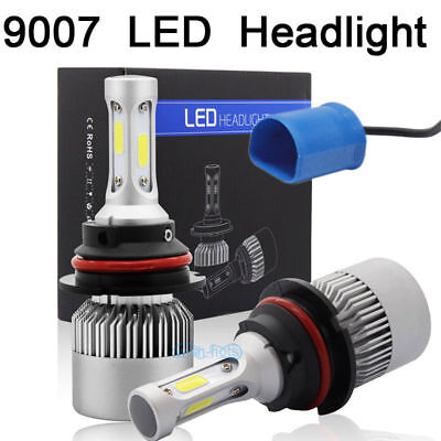 2X 9007 LED Headlight Bulb for INTERNATIONAL TRUCK 4300 4400 SERIES 2003-2012