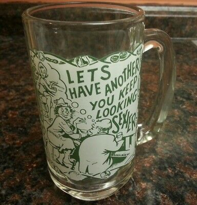 Mid Century Modern VINTAGE RETRO Let's Have Another You Keep Looking Sexier MUG