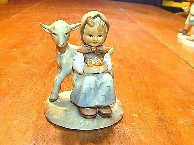 "Vintage Hummel Stylized Bee Mark 4"" #182  ""Good Friends"" Figurine #2"
