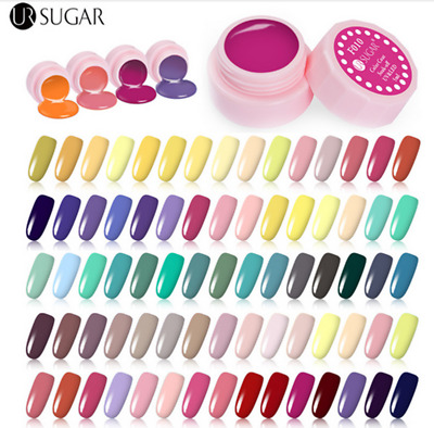 5ml Nail Art Soak Off UV/LED Gel Polish Color Coat Varnish 110 Colors UR SUGAR