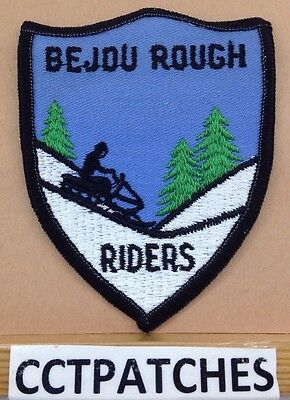 Bejou, Minnesota Roughriders Snowmoble Club Patch