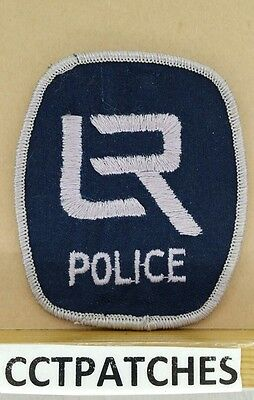 Little Rock, Arkansas Police Shoulder Patch Ar