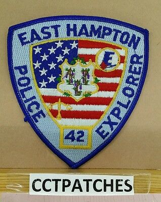East Hampton, Connecticut Police Explorer Shoulder Patch Ct