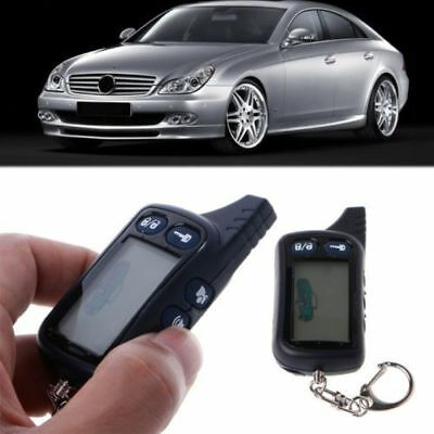 2 Way Car Alarm Keyless Entry Remote Start System For Tomahawk TZ-9010