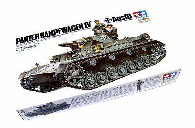 Tamiya Military Model 1/35 Panzer Kampfwagen IV Ausf.D with Three Figures 35096