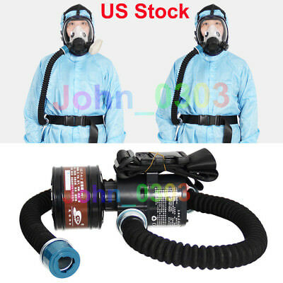Electric Supplied Air Fed Pump For 3M Full Face Mask (With Canister)