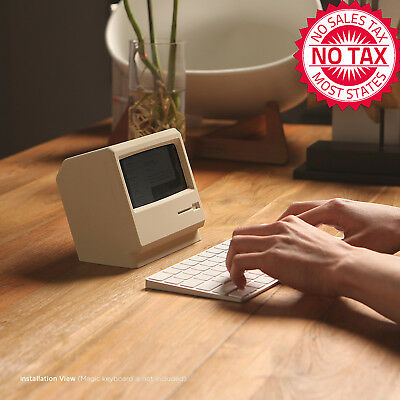 M4 Phone Stand Turns Your IPhone Into Retro Apple Computer, Perfect For Movies