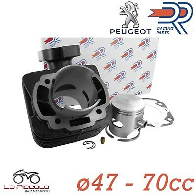 KT00058 GRUPPO TERMICO ø47 CILINDRO DR 70cc PEUGEOT SPEEDFIGHT - SQUAB 50 2T