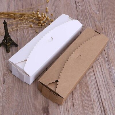 5Pcs Kraft Paper Boxes Handmade Crafts Gift Packaging Wedding Party Favor Case