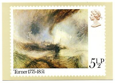 GB 1975 JMW Turner PHQ card mint Excellent condition