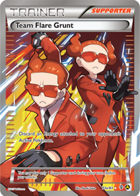 Team Flare Grunt FULL ART 73a/83 EN