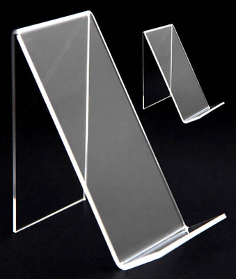 Clear 3mm Thick Acrylic Book Stands