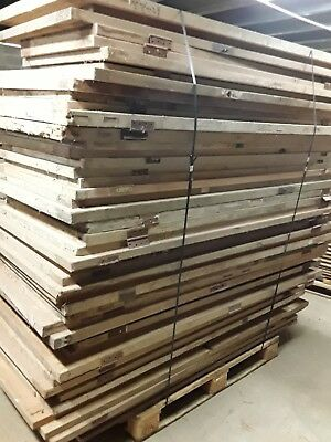 Antique Reclaimed stripped pine mixed doors x 48