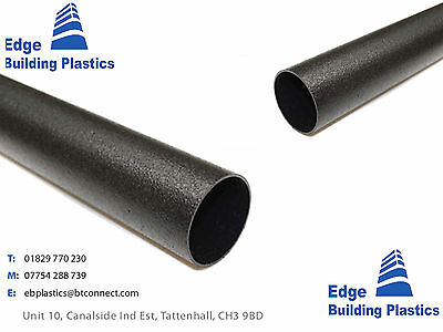 Cast Iron Effect Gutter and Drainpipe - Black Round - castironeffect.co.uk