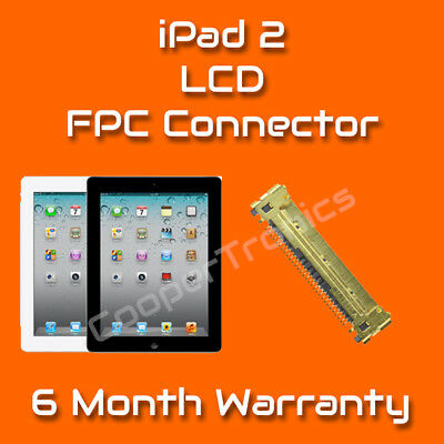 Apple iPad 2 LCD Screen FPC Connector Repair Replacement Service