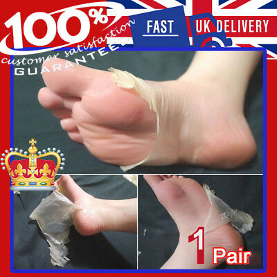 Exfoliating Peel Renewal Foot Mask Baby Socks Feet Remover Dead Skin Cuticles