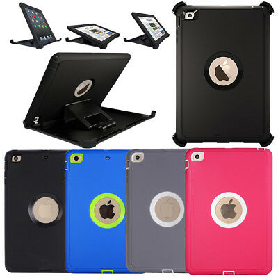 Defender Series Case For iPad mini 4 / mini 3/2/1(Shield Stand Fit for Otterbox)