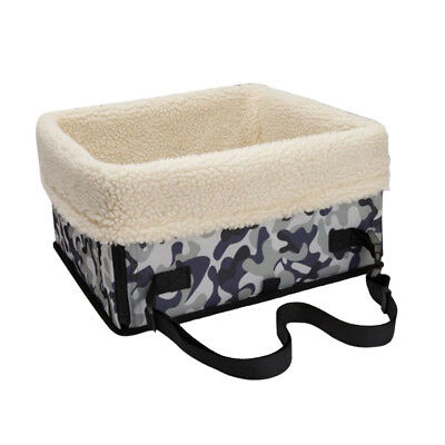 Pet Car Seat Carrier Airline Dog Cat Lookout Booster Seat for Husky Camou M