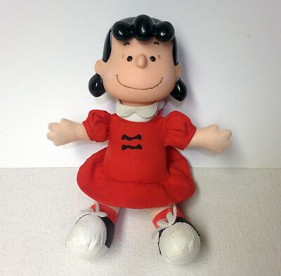 "Rare Vintage 1963 (Charlie Brown) Lucy Doll 7"" x 10"" Mc Donald's Plush"
