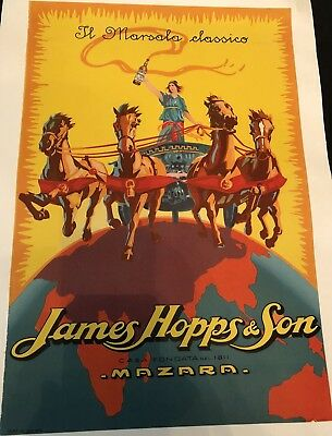 Original Vintage Poster James Hoppes & Son ca.1923